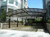 aluminum frame car shed design