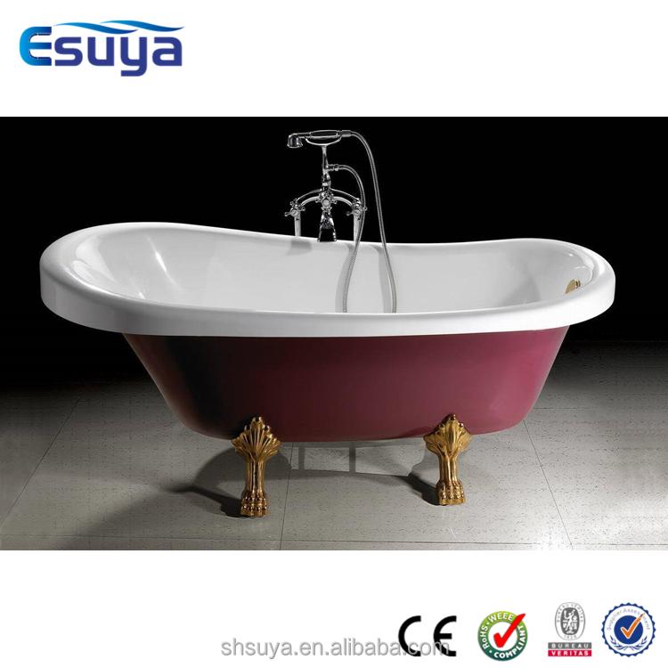 how to clean enamel bathtub