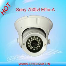 Sony 750TVL IR Vandalproof camera support OSD,D-WDR,3D-DNR,HLC,E-zoom,Defog
