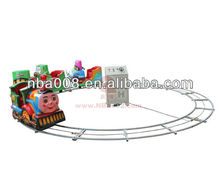 QHRT06 Cute Amuement Electric Mini Train with Track for Sale