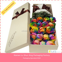 fashion design customize flower shipping boxes,Luxury flower box