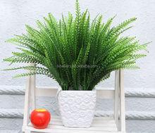 Nz-2033 alta qualidade phoenix - cauda samambaia / verde grama artificial decorativo