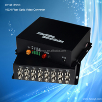 16 Channel Analog to Fiber Converter for security cameras CY-9816V1D