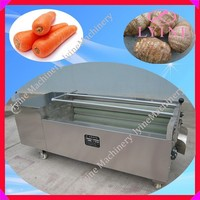 industrial potato peeling machine with carrot ginger sweet potato taro cassava