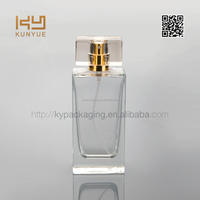 50ml manufacturers empty perfume bottle with surlyn cap