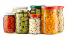 Large Volume Clear Manson Jar Glass Jar for Honey/Storage/Jam with Alunimum Lids