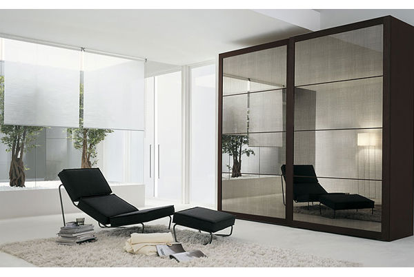 cheap modern bedroom wardrobe sliding mirror doors for wholesale buy