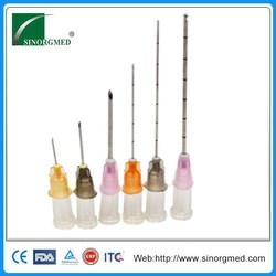 cosmetic 27g 50mm hyaluronic acid using micro cannula