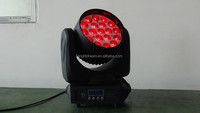 china supplier 19pcs*12W RGBW 4 in 1 led moving head wash zoom light