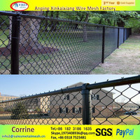 chain link fence panels, used chain link fence for sale factory