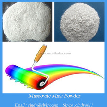 natural silver white mica powder for paint and coating