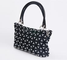 Wholesale newest woman handbag/brand designer handbag with 100% handcrafted tote bag
