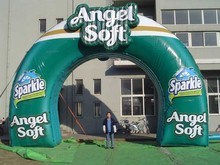 Cheap custom made inflatable balloon arch with logo for event decoration