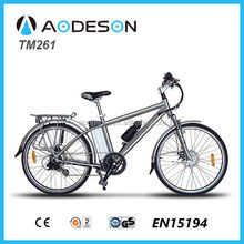 cheap and reliable electric mountain bike/bicycle, ebike TM261 with lithium battery and bafang motor made in China