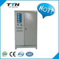 China Supplier SBW 50kva-400kva avr 220v 3 PHASE servo motor control AC automatic voltage stabilizer/regulator
