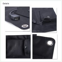 high Quality 12W Solar Panels Solar Bag Solar Mobile Charger for outdoors