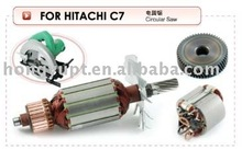 Industrial electric tools electric power tools spares armature rotor stator starter field coil gear Alternator C7
