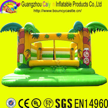 Palm Tree Inflatable Bouncer,Jungle bouncer