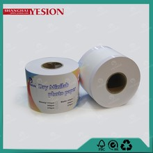 Yesion New Dry Minilab Photo Paper /Fuji Frontier Digital Minilab RC Photo Paper Roll/ Laser For Minilab Noritsu