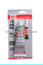 High temp 85g RTV silicone sealant packed with 502 super glue