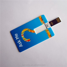 Superior quality credit card usb drive