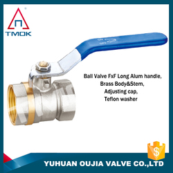 cw617n brass ball valve(female) full port with brass body polishing cw617n material motorize and o-ring and manual power 600 wog