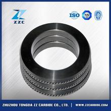Long Life cemented carbide cold ring for rolling ribbed steel bars in Roman