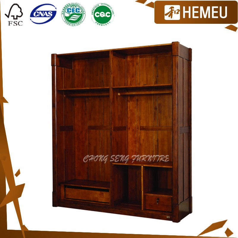 Wb3004 Mediterranean Style Solid Wood Bedroom Furniture