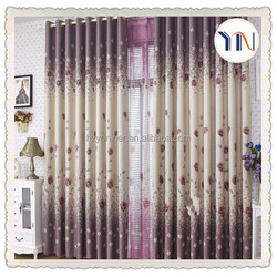100%polyester,3 pass blackout print blackout curtain, window curtain