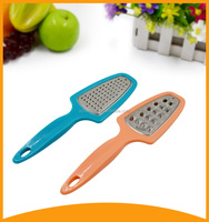 2015 best kitchen tool plastic grater and peeler with PP handle for potato and garlic