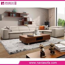 Living room furniture Italian corner 6 seater sofa set new designs 2014