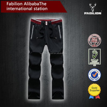 factory wholesale new arrival fashion design custom made for boys brown sweat pants