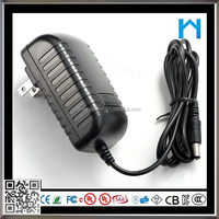 ac adapter 100vac 240vac to dc output 12V 2A 24w