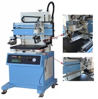 economical Plane vacuum screen printing machine for PVC ,paper,package bag,silicone key press,electronic procductsLC-500P