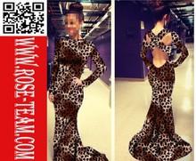 Quality Popular hot sale evening dress online shopping for fat women