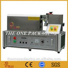 Semi- automatico de plástico por ultrasonidos tubo sellador de tous- 10