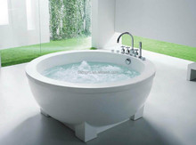 Indoor & Outdoor Arcylic gloss white roub with four legs (R150403)