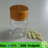 clear PET bottle for pharmaceutical,2 oz pill tablet packaging plastic bottle,60cc plastic bean extract pill bottle