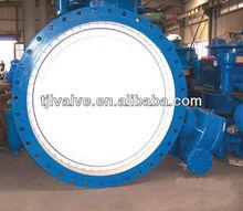 profesional de aguas residuales de gran diámetro válvulademariposa fabricante