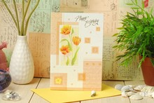 High quality handcrafted 3D greeting card Nancy Ho