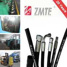 Corrugated Surface /crane transport R12 spiral reinforced hose pipe