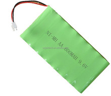 NI-MH AA 600Mah 9.6V Rechargeable Battery Pack