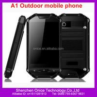 Dual sim rugged waterproof cell phone A1