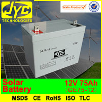 high quality lead acid gel solar 12v 70ah battery for solar system