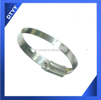 Factory supply ! fire resistant hose with stainless steel british type hose clamp