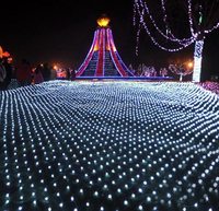 LED Net Light 220V 4m*6m 750LEDs led String Net Light Waterproof Outdoor Decorative Holiday