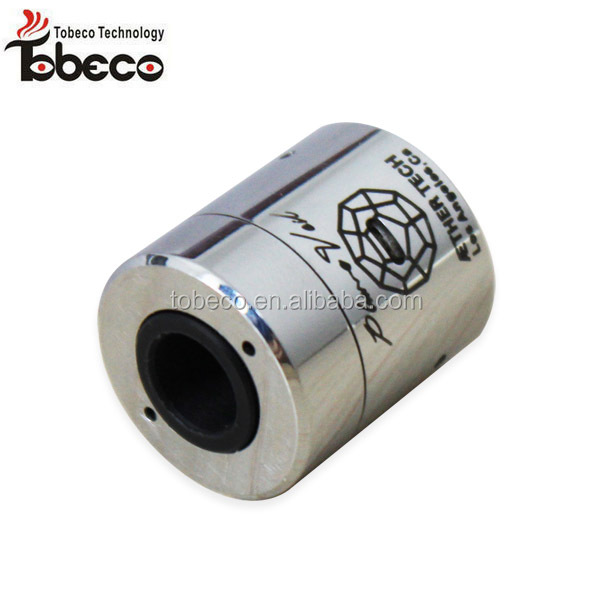 High Quality Manufacturer Tobeco black/ss color plumeveil clone RDA most popular plume veil atomizer