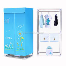 portable electric air drying clothes dryer