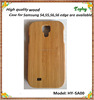 Wholesale!! Cell phone wood case for samsung galaxy s4