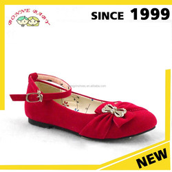 Suede Leather Simple And Light School Confirmation Shoes Girls